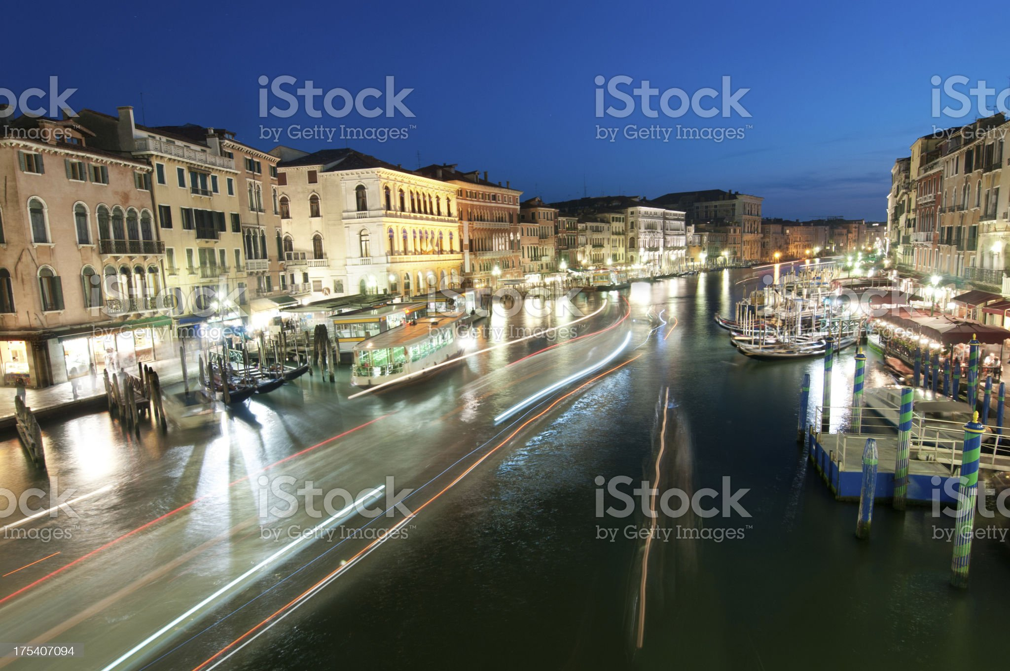 Grand Canal in Venice royalty-free stock photo