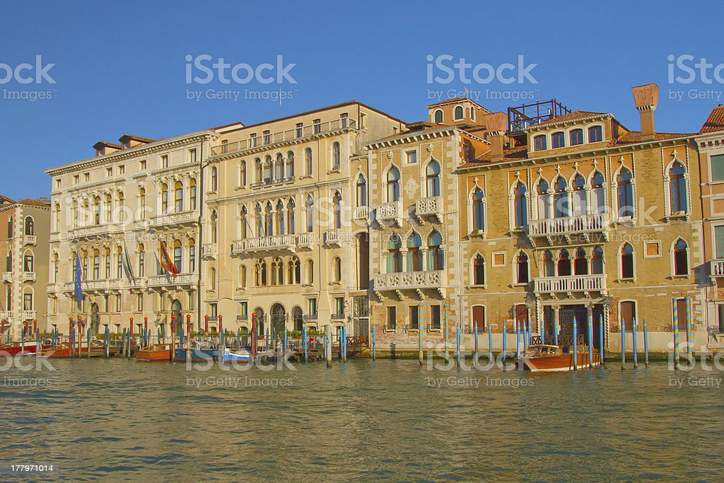 Grand Canal in Venice (Italy) royalty-free stock photo