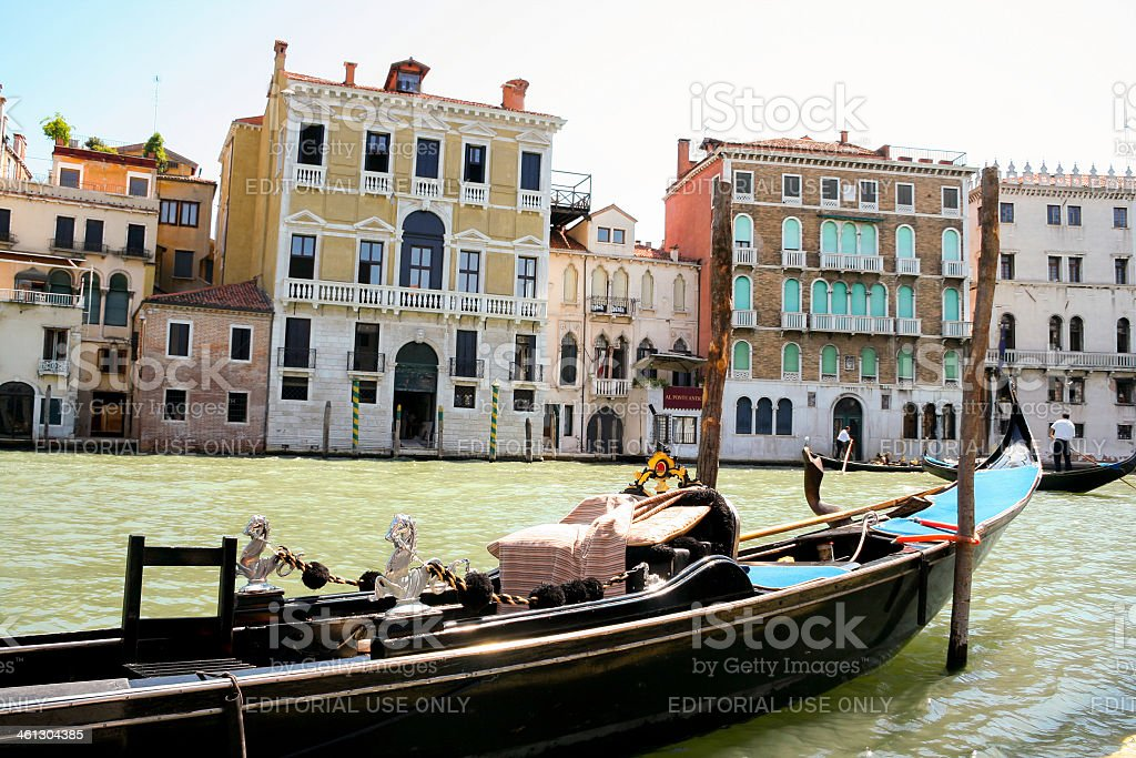Canale Grande in Venice royalty-free stock photo