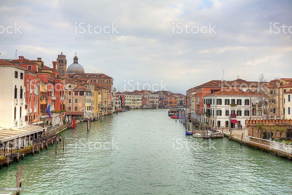 Grand Canal in Venice,Veneto,Italy royalty-free stock photo