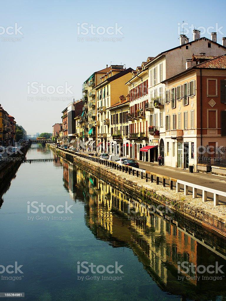 Grand Canal, Italy royalty-free stock photo