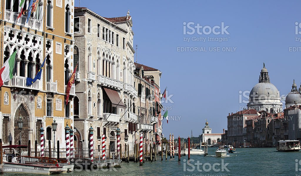 Grand canal of Venice royalty-free stock photo