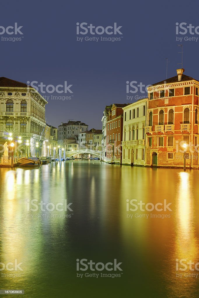 Canal Grande (Venezia) royalty-free stock photo