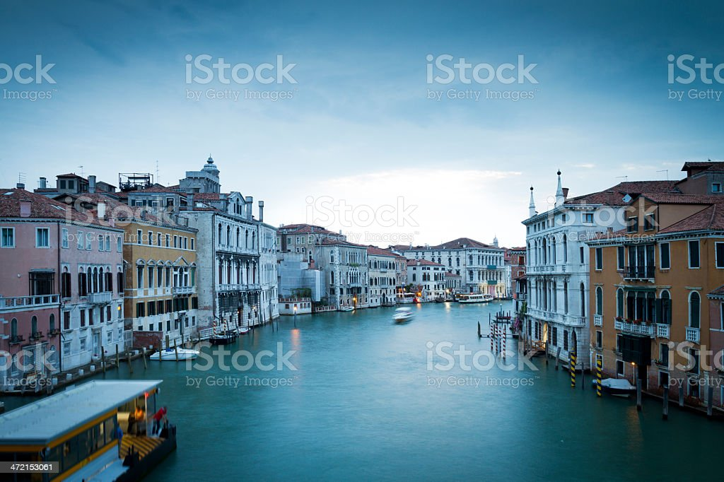 Grand Canal stock photo