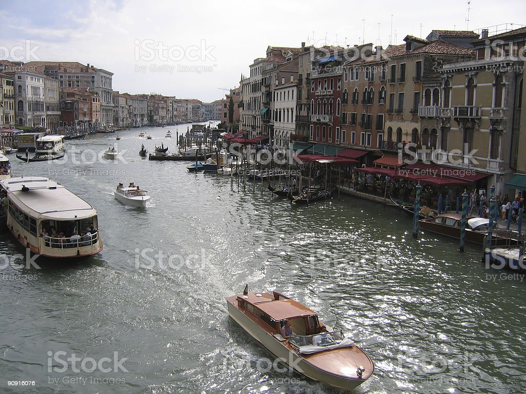 Grand Canal royalty-free stock photo