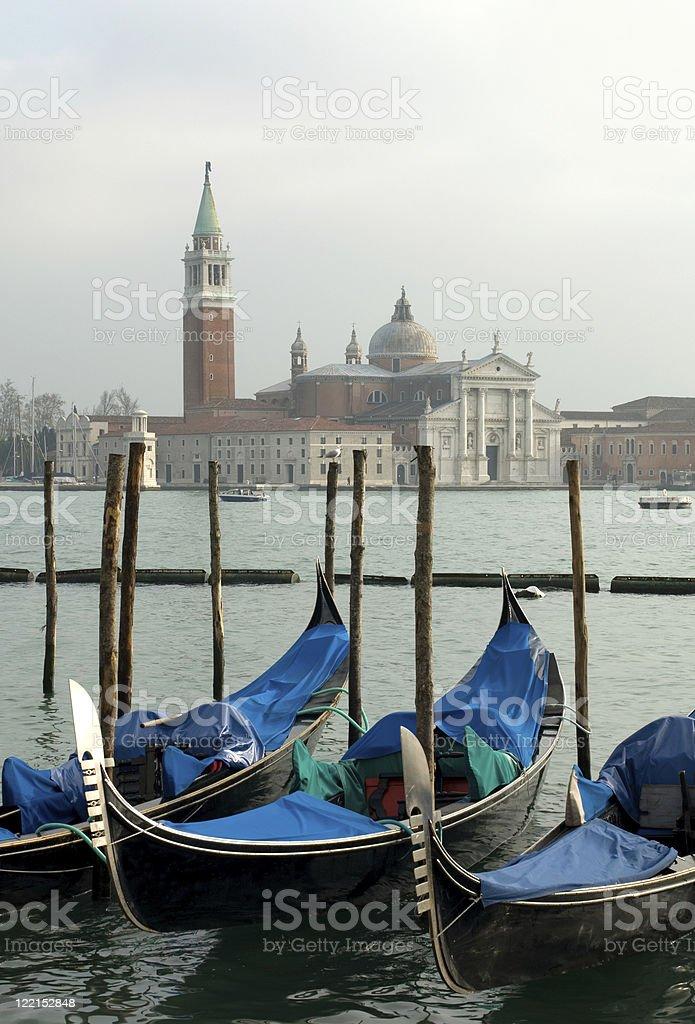 Grand Canal Scene, Venice, Italy royalty-free stock photo