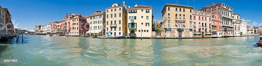 Grand Canal Venice Ferrovia stock photo