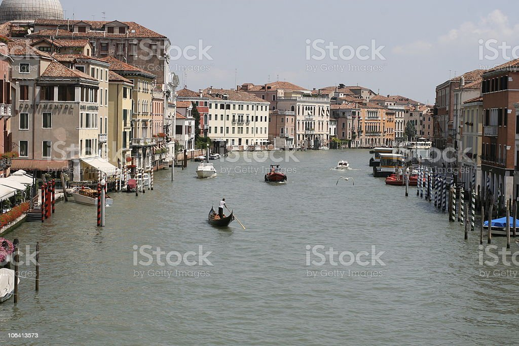 Grand Canal, Venice, Italy royalty-free stock photo