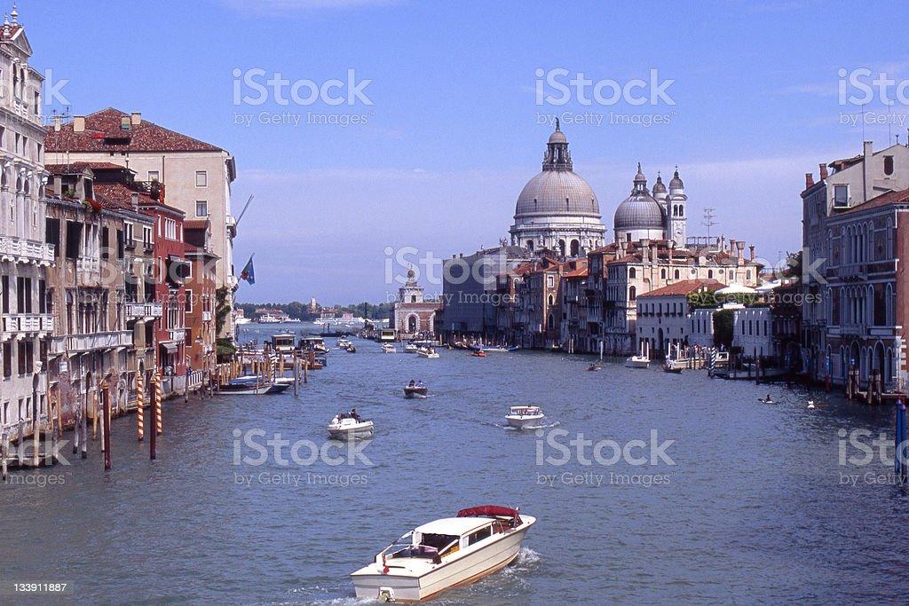 Grand Canal. Venice. Italy royalty-free stock photo