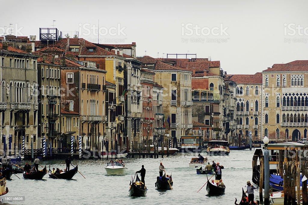 Grand Canal, Venice Italy royalty-free stock photo