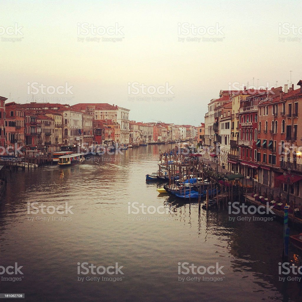 Grand Canal, Venice, Italy royalty-free stock photo