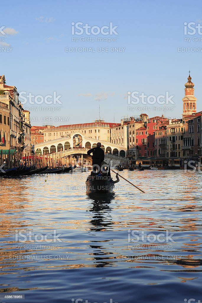 Grand Canal. Venice, Italy royalty-free stock photo
