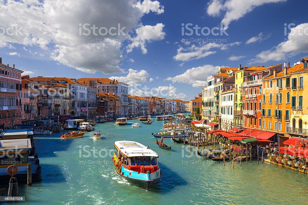 Grand Canal. Venice. Italy. stock photo