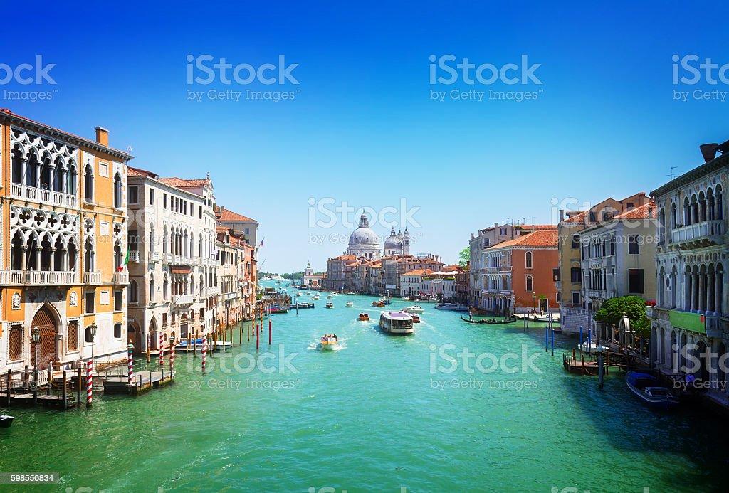 Grand canal, Venice, Italy stock photo