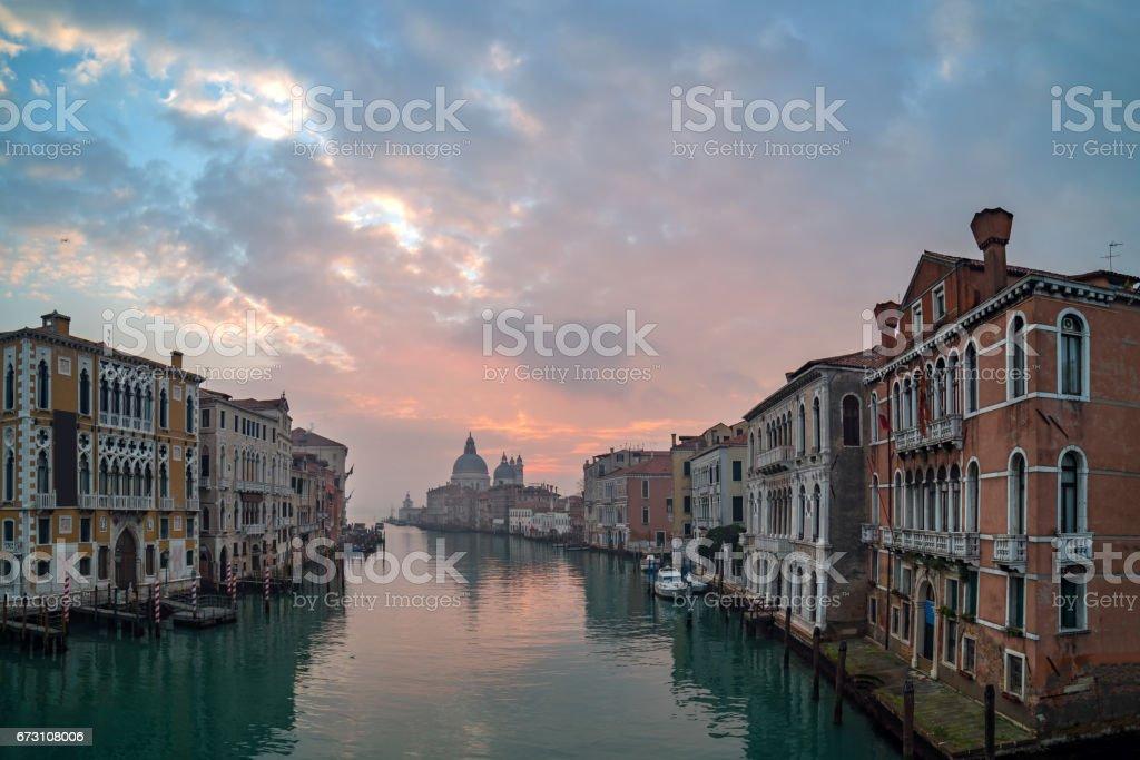 Grand Canal - Venice, Italy stock photo