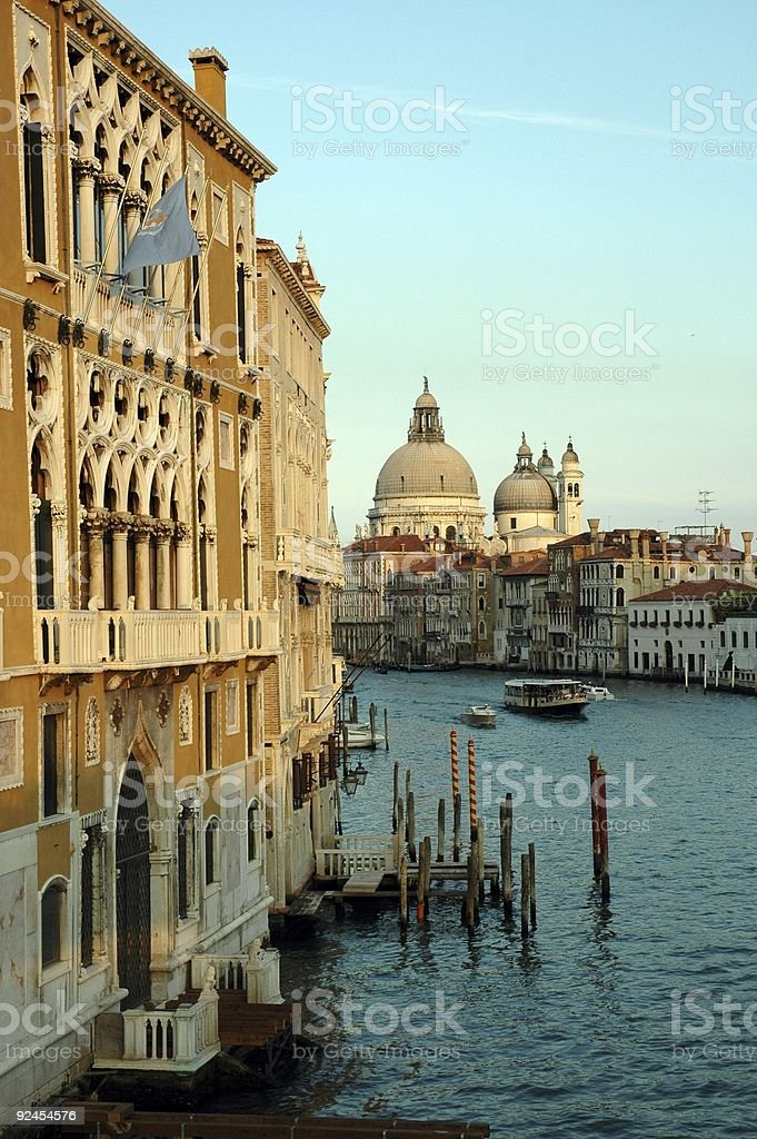 Grand Canal, Venice, Italy. royalty-free stock photo