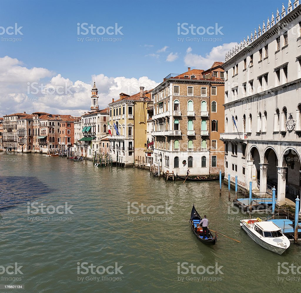 Canale Grande, Venice royalty-free stock photo