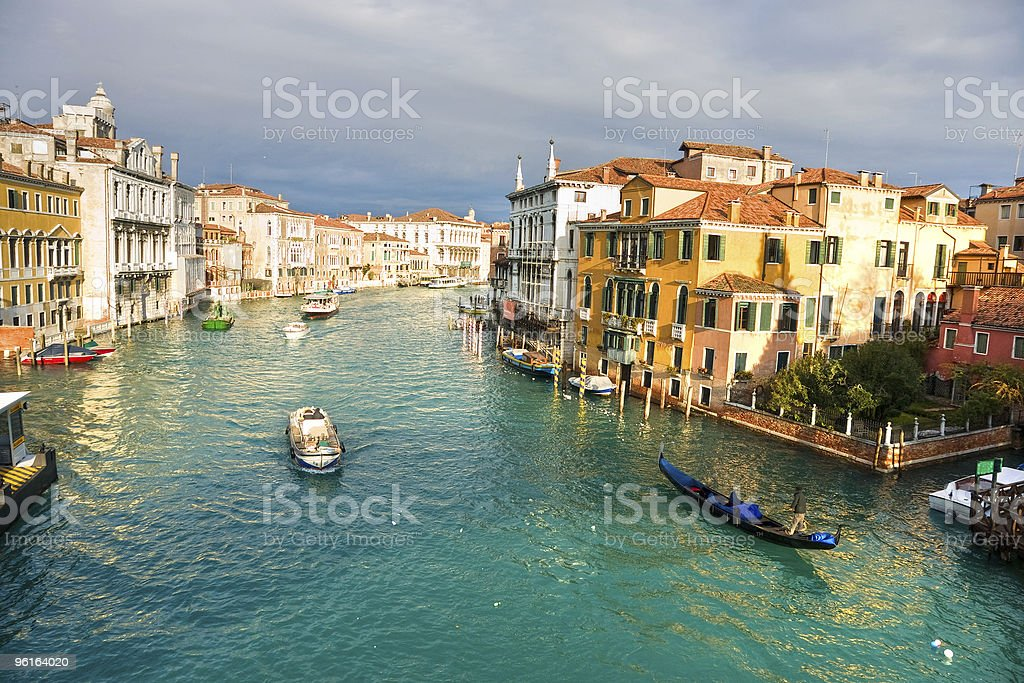 Grand Canal, Venice. royalty-free stock photo