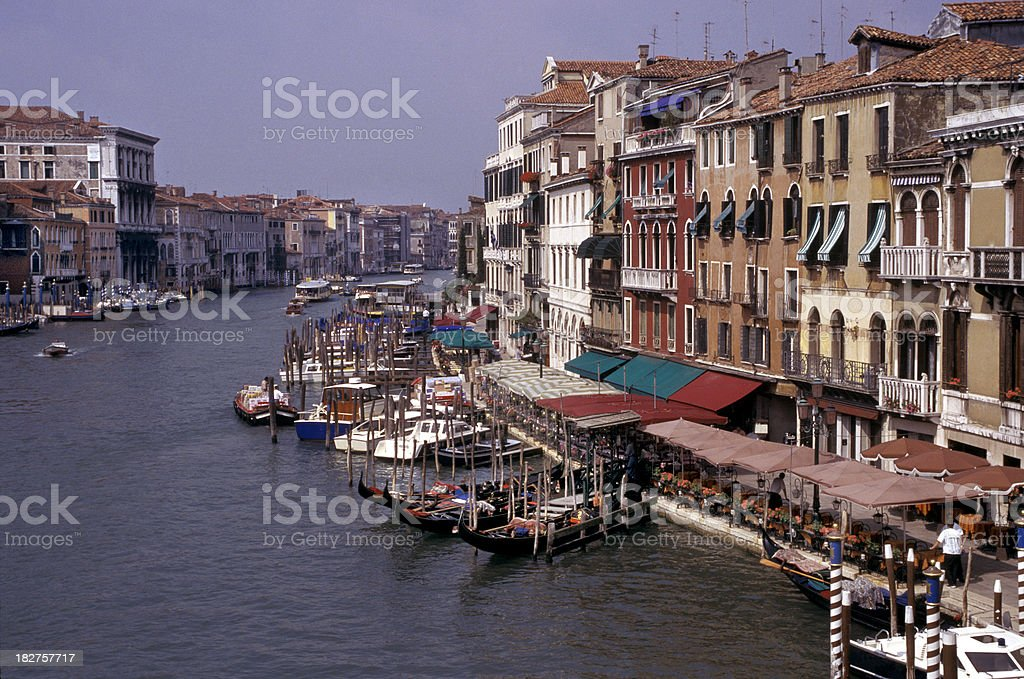 Grand Canal View royalty-free stock photo