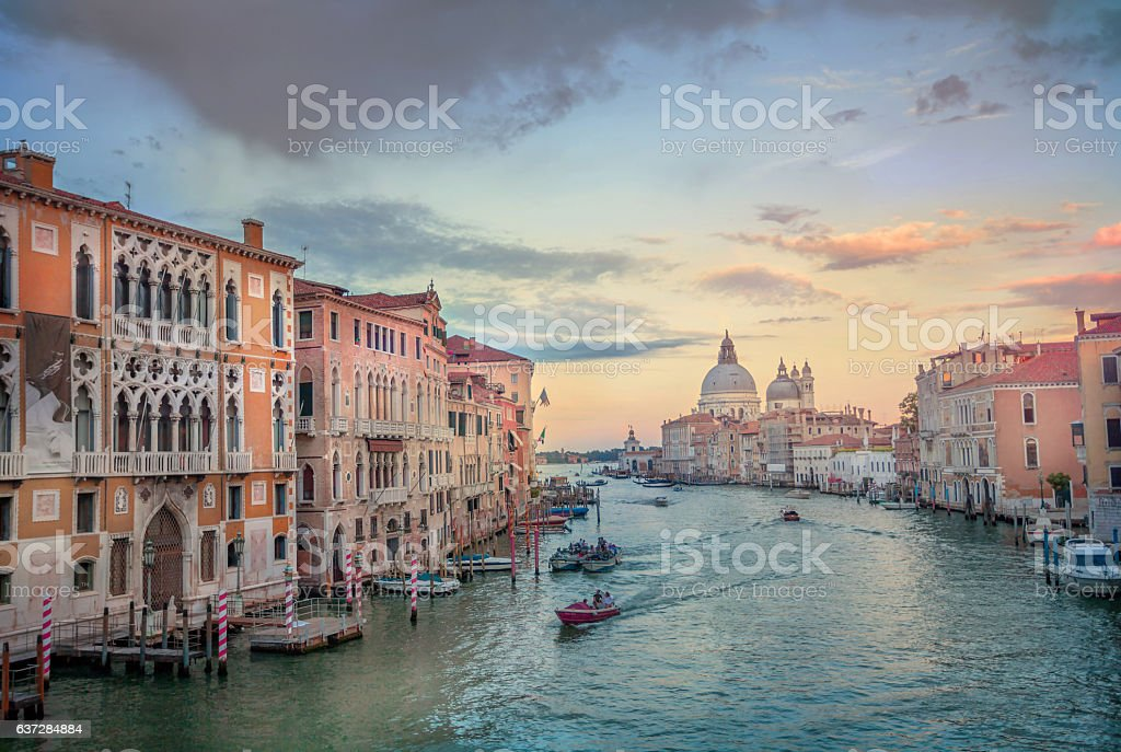 Grand Canal View. stock photo