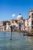 Grand Canal with Chiesa di San Geremia, Venice Italy