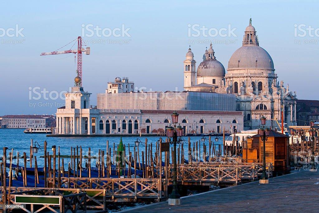 Grand canel Venice Italy royalty-free stock photo
