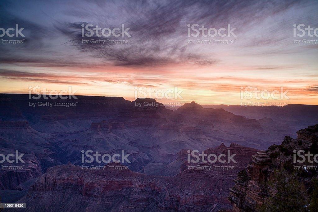 Grand Canyon Dawn royalty-free stock photo