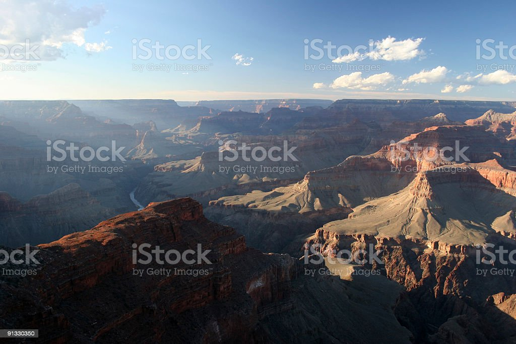 Grand Canyon Evening royalty-free stock photo