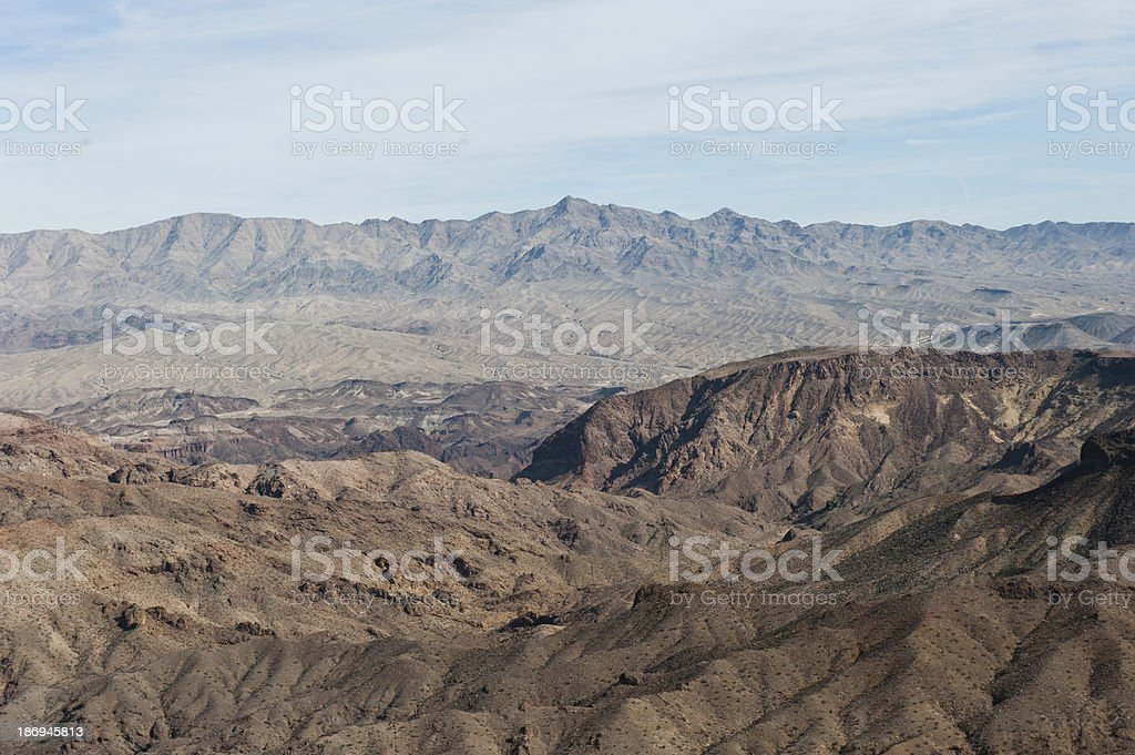 Grand Canyon Hills stock photo