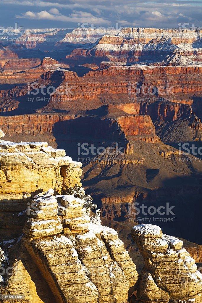 Grand Canyon Morning Light stock photo