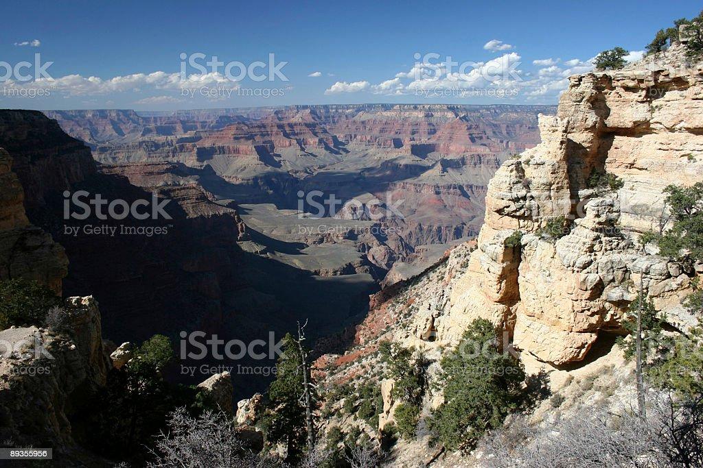 Grand Canyon Morning royalty-free stock photo