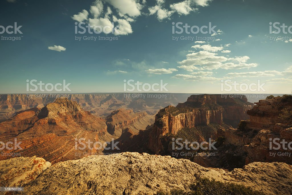 Grand Canyon National Park North Rim Scenic Landscape, Arizona, USA stock photo