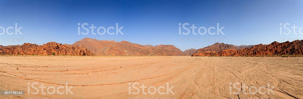Grand Canyon National Park of Wensu ,Xinjiang stock photo