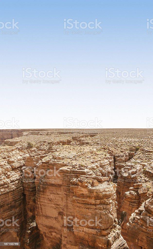 Grand Canyon national park on arizona royalty-free stock photo