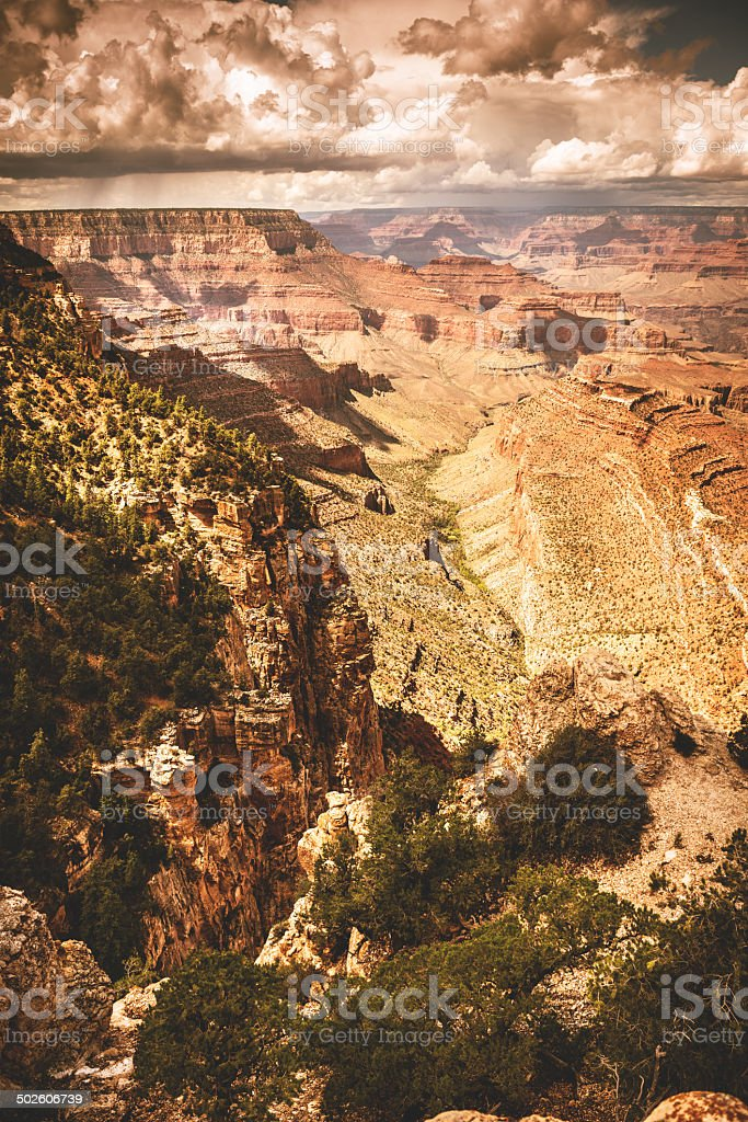 Grand Canyon national park on arizona royalty-free stock photo