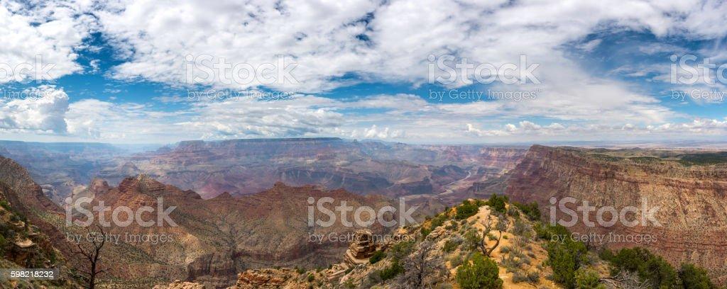 Grand Canyon National Park Panorama stock photo