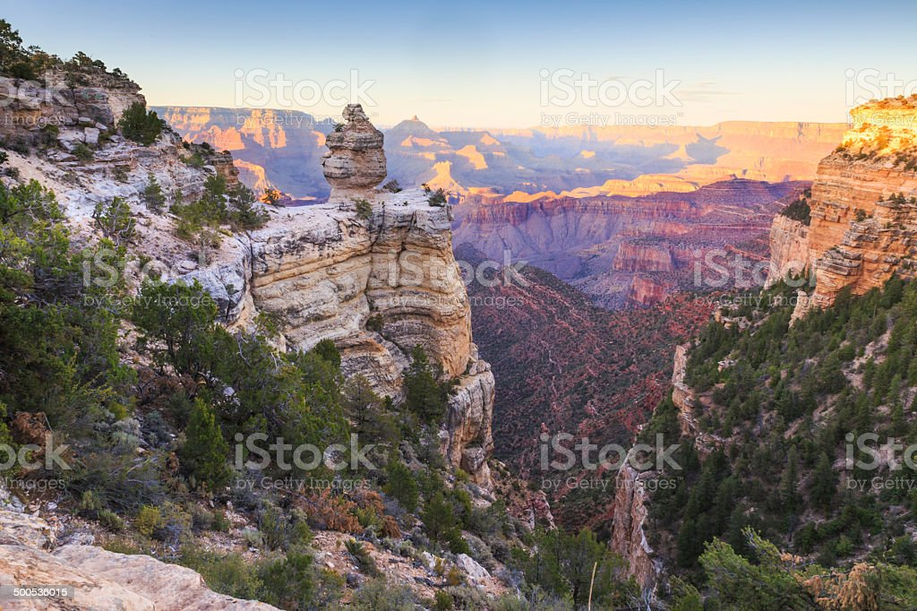Grand Canyon National Park - South Rim royalty-free stock photo