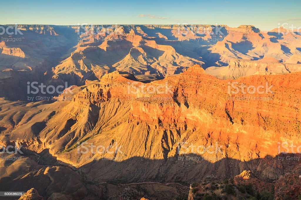 Grand Canyon National Park - South Rim royalty-free stock photo