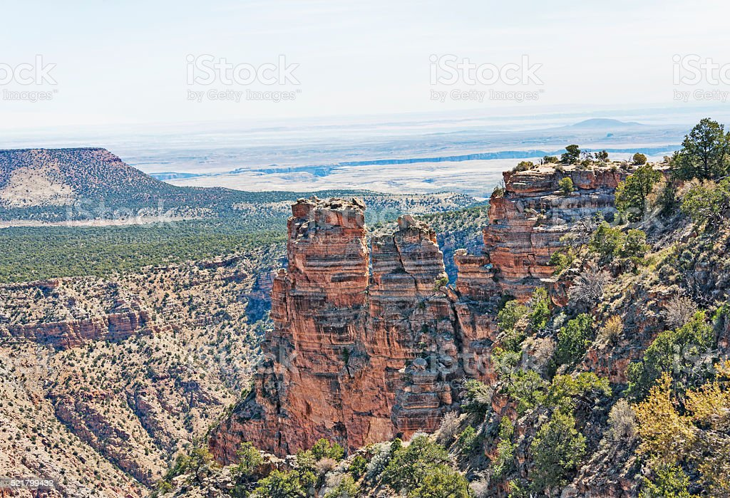 Grand Canyon National Park Special Layered Rock Views stock photo
