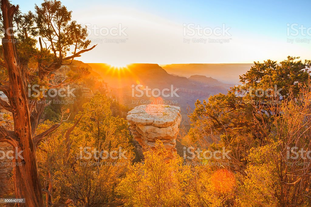 Grand Canyon National Park - Sunset royalty-free stock photo