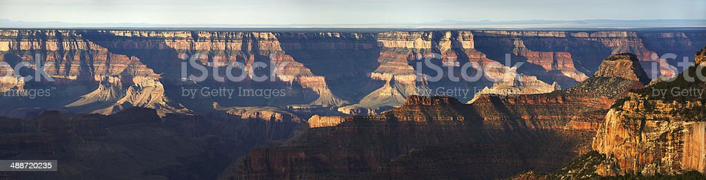 Grand Canyon North Rim : Bright Angel Point stock photo