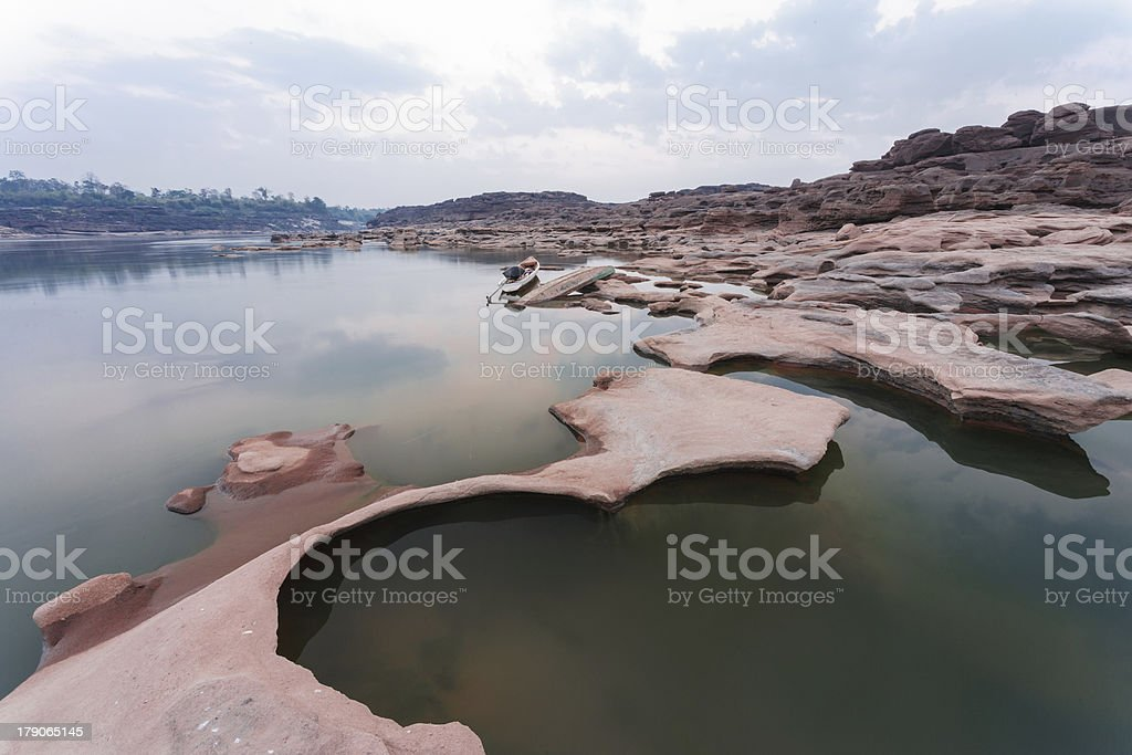 Grand canyon of Thailand royalty-free stock photo