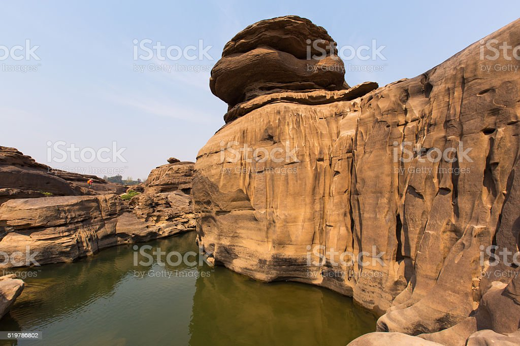 Grand Canyon of Thailand stock photo