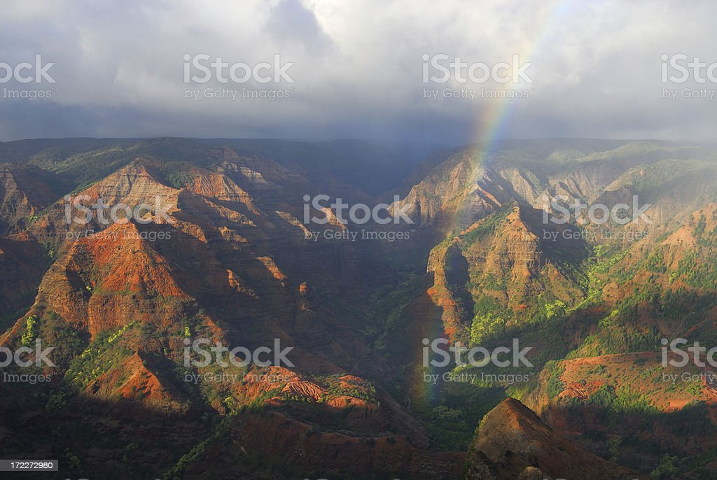 Grand Canyon of the Pacific stock photo