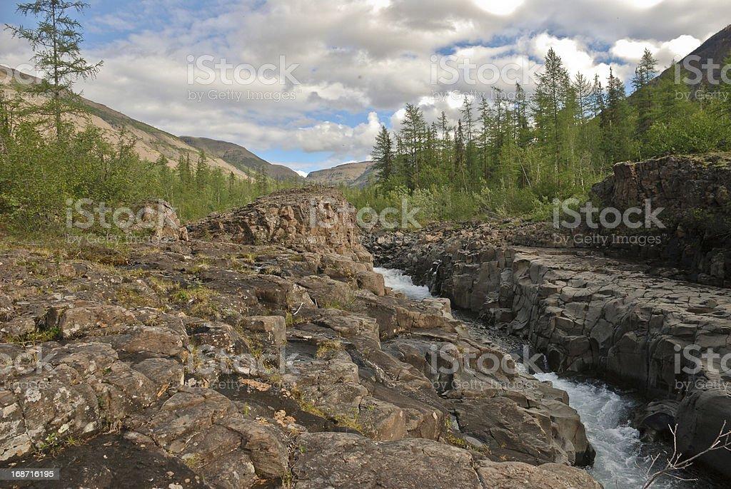 Grand Canyon on the Bucharama royalty-free stock photo