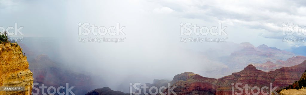 Grand Canyon Panorama stock photo