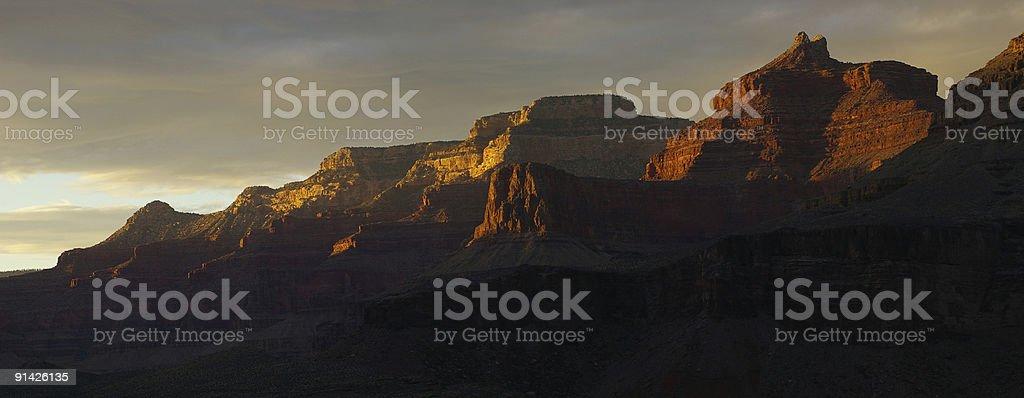 Grand Canyon panoramic stock photo