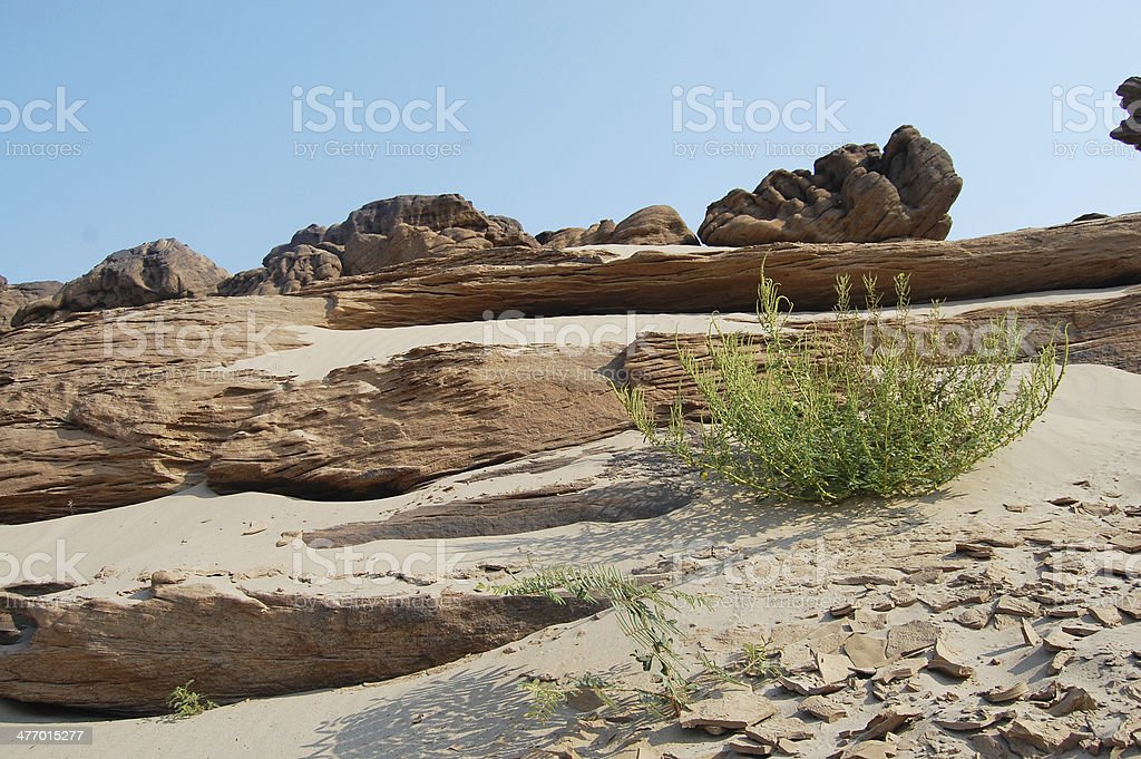 Grand Canyon Sam Phan Bok at Ubon Ratchathani stock photo