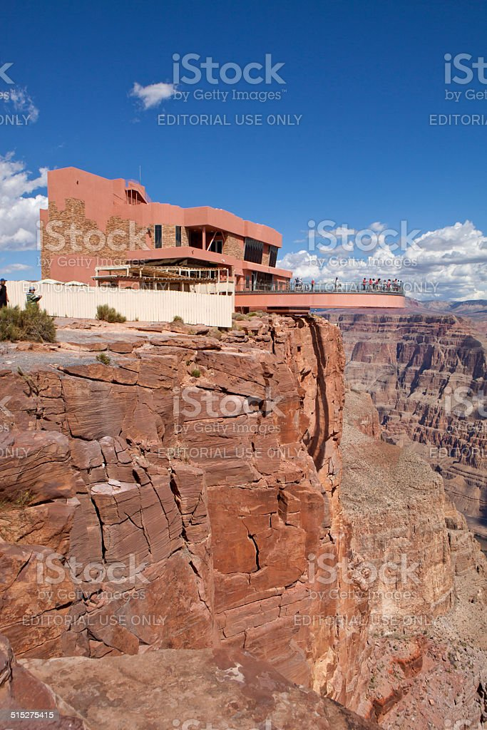 Grand Canyon  Skywalk (West Rim) stock photo