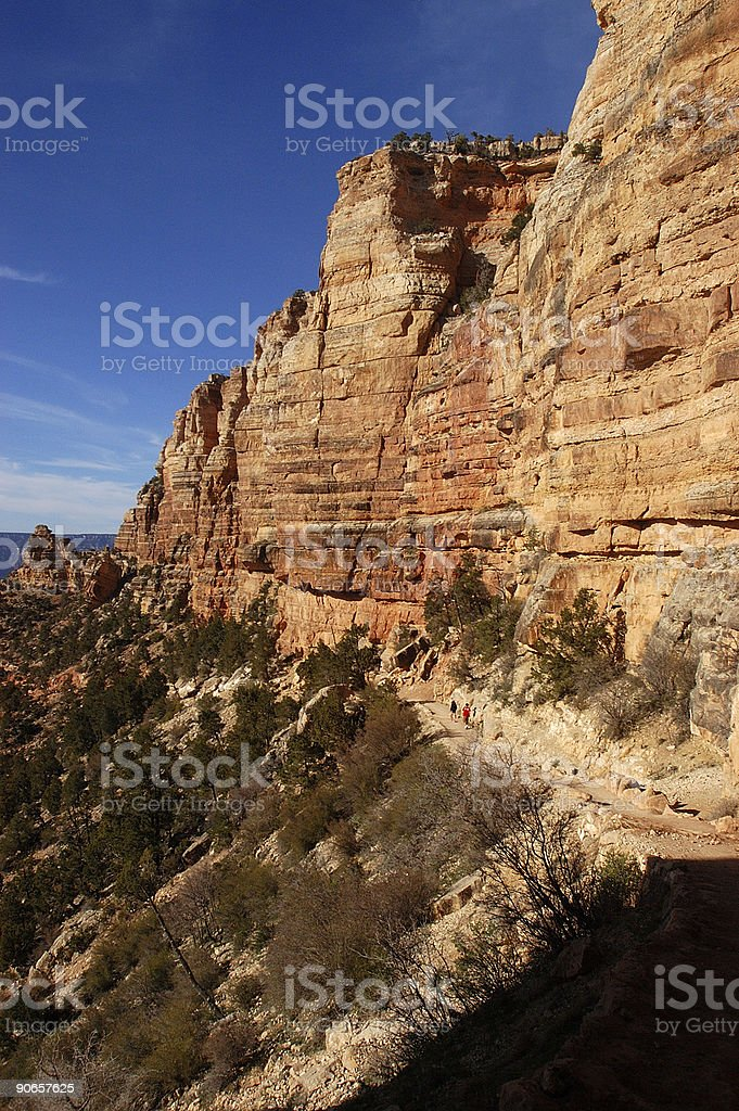 Grand Canyon - South Kaibab trail stock photo